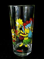 The Simpsons 20th Century Fox Nutella Promotional Tumbler Glass Collectable Rare
