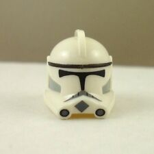 Lego Star Wars Custom Phase 2 Clone Trooper Helmet No Fin White
