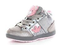 LELLI KELLY CALIFORNIA ORSETTO grigio glitter scarpe scarponcini bambina kids