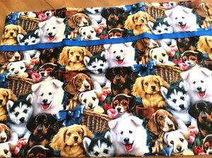 """1 Cotton Dogs Handmade Standard Pillowcase 20"""" x 30"""""""