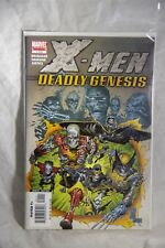 Marvel Limited Series X-Men Deadly Genesis Issues #1 to 6 Complete Set