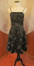 Vtg 60s 70s Byer Too!! Goth BOHO Gypsy Disco Prom/Party/Cocktail Dress USA S9