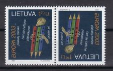 Litauen 2003 postfrisch Kehrdruck MiNr. 816  Europa Plakatkunst siehe Bild /(2)