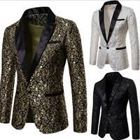 Men Kimono Shirt Denim Lapel Button Japanese Jacket Tie Waist Robe Coat US3XL