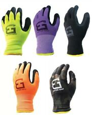 Better Grip Winter Insulated Double Lining Rubber-Coated Work Gloves