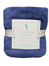 New Potterybarn kids Navy Chamois Standard Sham Pillowcase
