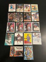 18 Card Baron Davis Lot Rookies + More Hornets Warriors UCLA 1999-00 Topps +