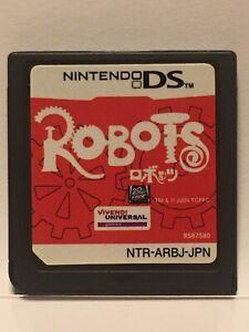Japan Nintendo DS Robots Japanese Action Adventure Games reimport UNIVERSAL NDS