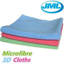 JML microfibre super douce fibre de verre voiture lentille maison propre polissage chiffons 70429