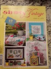 Simply Vintage Quilts and Crafts Winter 2017 No25
