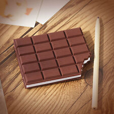 1pc Chocolate Paper Notebook Dairy Memo Pad Diy Cover Notepad Stationery Binders