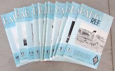 Revue des Ondes Courtes Radio REF 12 numéros Année complète 1962