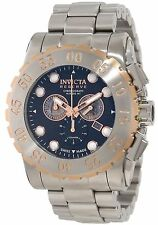 Swiss Made Invicta 11024 Reserve Leviathan Diver Chronograph 2-Tone Men's Watch