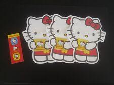 1 set x 3 Red Packet Money Envelope @Die Cut Sanrio Hello Kitty w Stickers (#26)