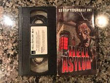 Hell Asylum Vhs! 2002 Horror! Also See Deathbed & Witchhouse