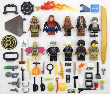 10 NEW LEGO MINIFIG LOT figures people Men zombie minifigures city town city