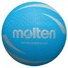 Molten Soft Touch Blue Volleyball Bvf Approved Rubber Surface