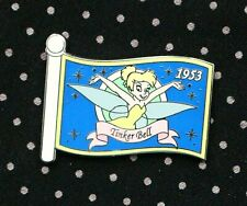 Disney Pin Tinker Bell Wdw Mystery Character Flags Flag Le 500 Limited Edition