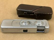 Minox III 1951 subminiature Camera with Complan 15mm f3.5 Lens and case - Works