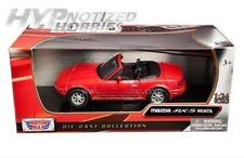 MOTOR MAX 1:24 MAZDA MX-5 MIATA DIE-CAST RED 73262