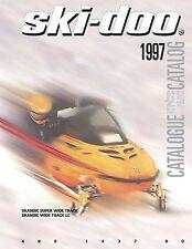 Ski-Doo parts manual catalog book 1997 SKANDIC SUPER WIDE TRACK & WIDE TRACK LC