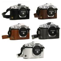 """MegaGear """"Ever Ready"""" Leather Camera Case for Olympus OM-D E-M10 Mark III"""