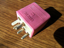1990 - 1999  Mercedes Benz C280 W140 Multi Purpose Relay Pink 4 Prong