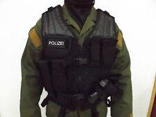 GSG 9 SEK BFE KSK Polizei taktische Einsatzweste Weste Geräteweste Einheitsgröße