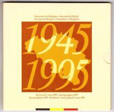 Set 1995 BELGIQUE / BELGIUM [FDC / UNC] 50ans - Blister / coffret FRANCS