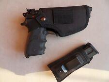 Fondina  per pistola / revolver BIVALENTE (destri e mancini) + porta caricatore