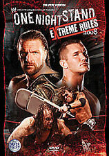 WWE One Night Stand Extreme Rules 2008 (DVD, 2008)