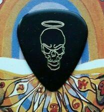 Zz Top Dusty Hill 2010 tour black angel guitar pick