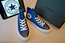 Converse Chuck Taylor Mens High Top Pumps Shoes Special Edition True Indigo UK 5