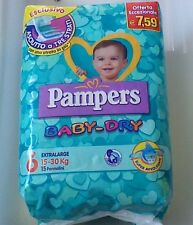 PAMPERS Baby-Dry 6°Mis. 15-30 kg 12 conf. 180 pannolini
