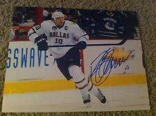 Brenden Morrow Autographed 8x10 Photo Dallas Stars Penguins Blues Canada