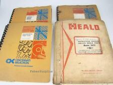 Cincinnati Milacron Service Operating, Repair Manuals