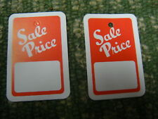 "Clothing Tagging Tags Gun Hang "" Sale Price Label Paper"