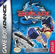 Beyblade: V Force Ultimate Blader Jam (Nintendo Game Boy Advance 2003) GAME ONLY