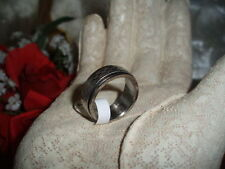 Spinner Ring Size 10 Gorgeous Classic Stainless Steel Cute