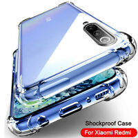 For Xiaomi Redmi Note 9S 8T 8 7 Pro 8A Mi 9T A3 Shockproof Soft Clear Case Cover