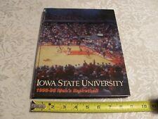 1995 1996 Iowa State Cyclones Basketball Yearbook Review ISU Sports Book Players