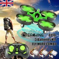 Eachine E010 Mini 2.4G 4CH 6Axis Headless Mode RC Drone Quadcopter RTF Xmas Gift