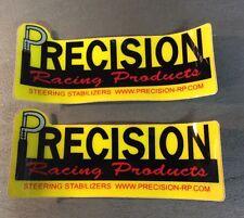 PRECISION RACING 2X DECAL STICKER EMBLEM TRX450R KFX400 LTR450 YFZ450R TRX250R