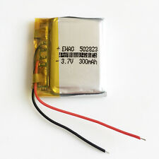 3.7V 300mAh 502823 Li-ion Lipo Rechargeable Battery for remote control speaker