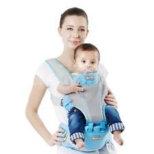 New Arrival Sulida Blue Hipseat Ergonomic Comfortable Baby Carrier Backpack