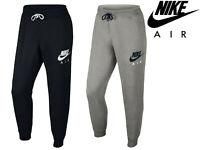 Men's Nike Air Joggers Slim Fleece Tracksuit Sweat Training Jogging Bottoms Gym