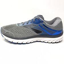 Brooks Mens Adrenaline GTS 18 Running Shoes Gray Blue Mens Sz 10.5 M (D)