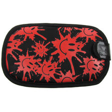 ITZ Covered G-Force Mobile Phone Pouch Case -Red Smiley