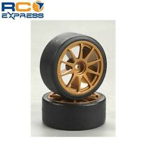 Tamiya Drift Tires Type D & Wheels TAM51219
