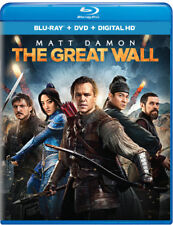 The Great Wall [New Blu-ray] With DVD, UV/HD Digital Copy, 2 Pack, Digitally M